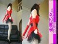 フィメールマスク動画12 ハロウィン赤い悪魔っ子01 kigurumi female mask12 Halloween Red Devil Girl01